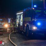 Explosion im Weimarer Land: Kurz danach steht ein Autohaus in Flammen (08.01.2021)